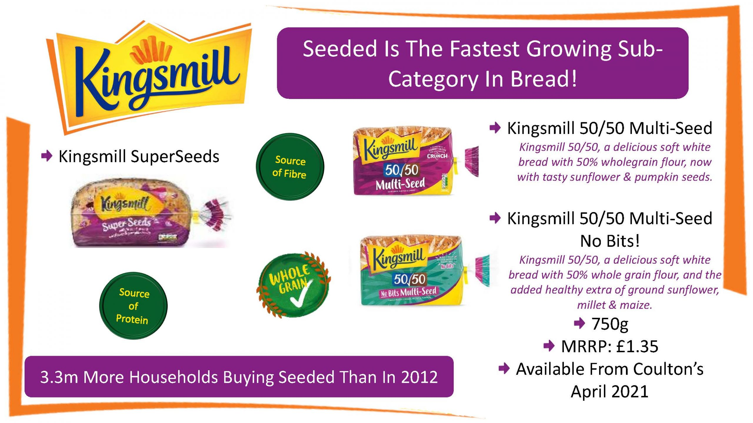 Kingsmill seeded Fibre